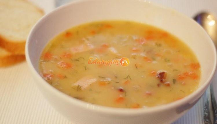 колотый гороховый суп рецепт с фото