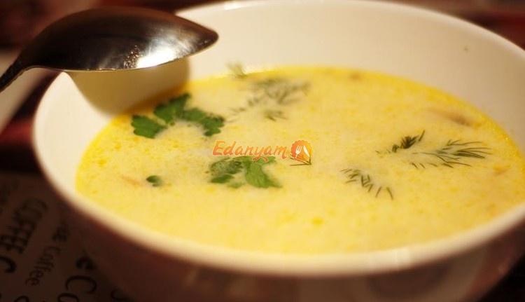суп с шампиньонами и сыром простой рецепт